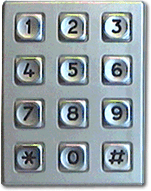 security keypad drucegrove