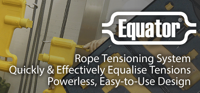 Equator Rope Tensioning System