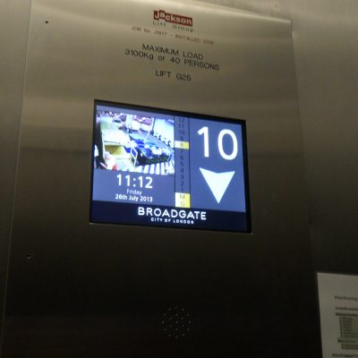 DragonFly - Multimedia Display - Lift position indicator for the lift