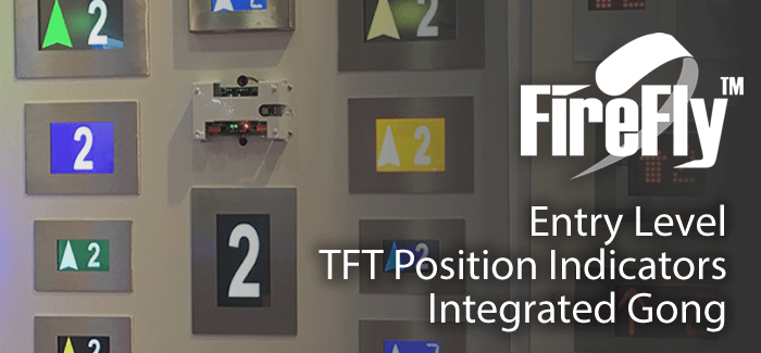 FireFly - TFT Lift Position Displays Indicators